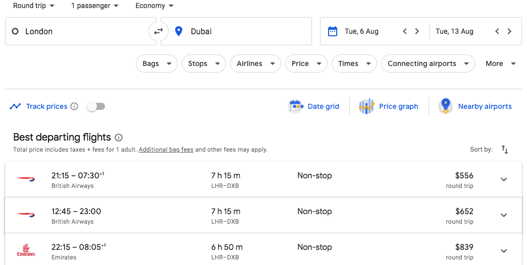 The Complete Step By Step Guide How To Use Google Flights