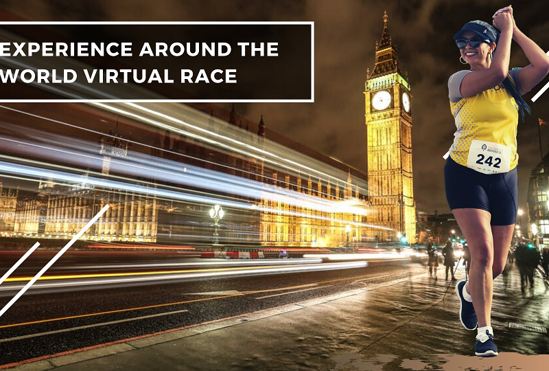 Run and Travel Around the World Virtual Race in 2020!